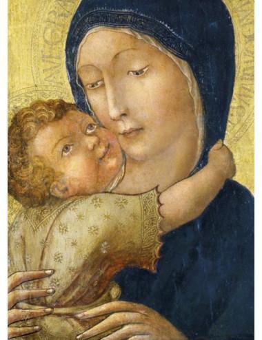 Ömhetens madonna julkort (10 st.)