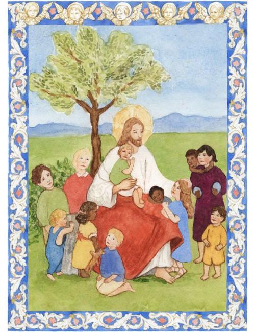 Lär mig att be - en katolsk bönbok för barn