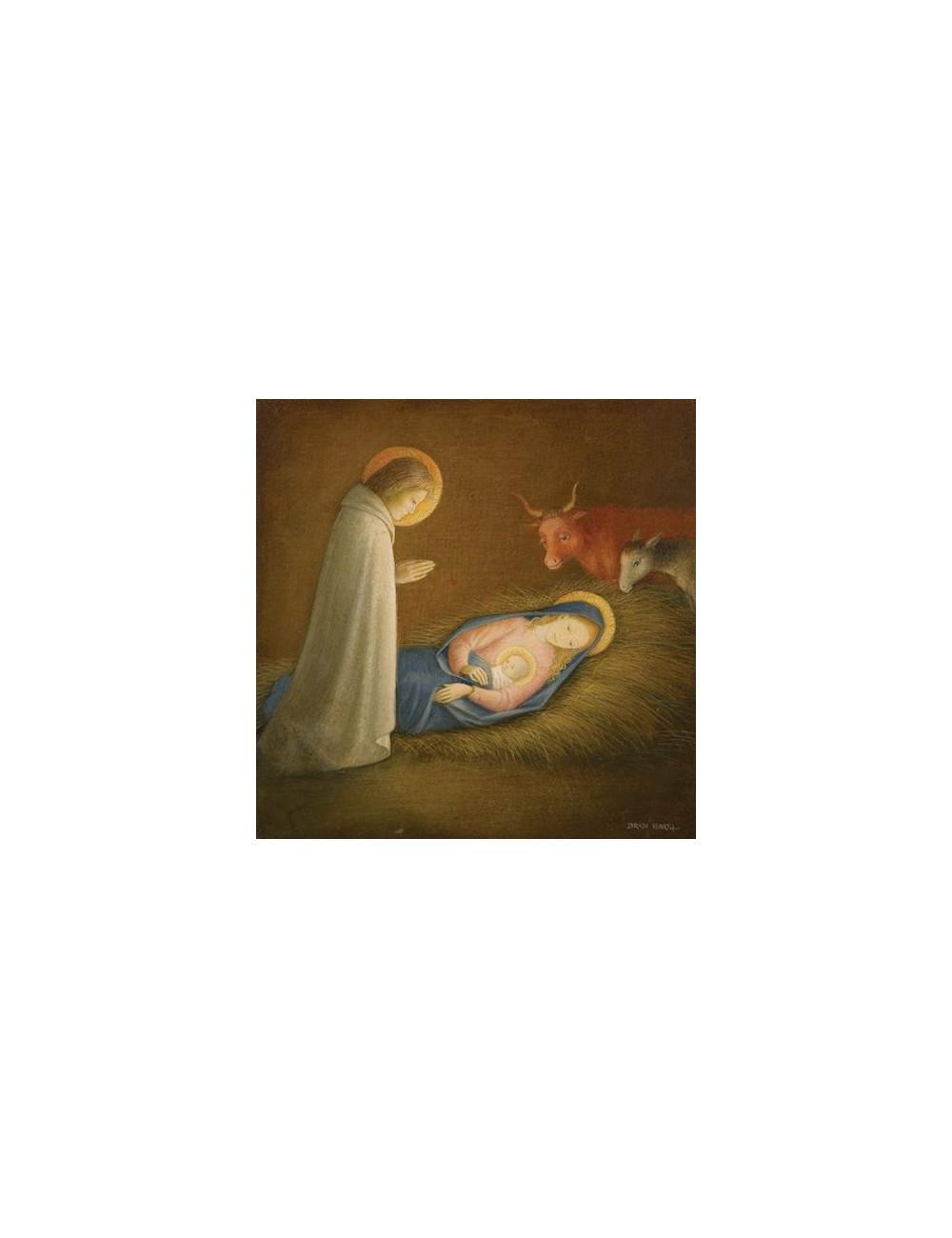 Den heliga familjen, julkort (10 st.)