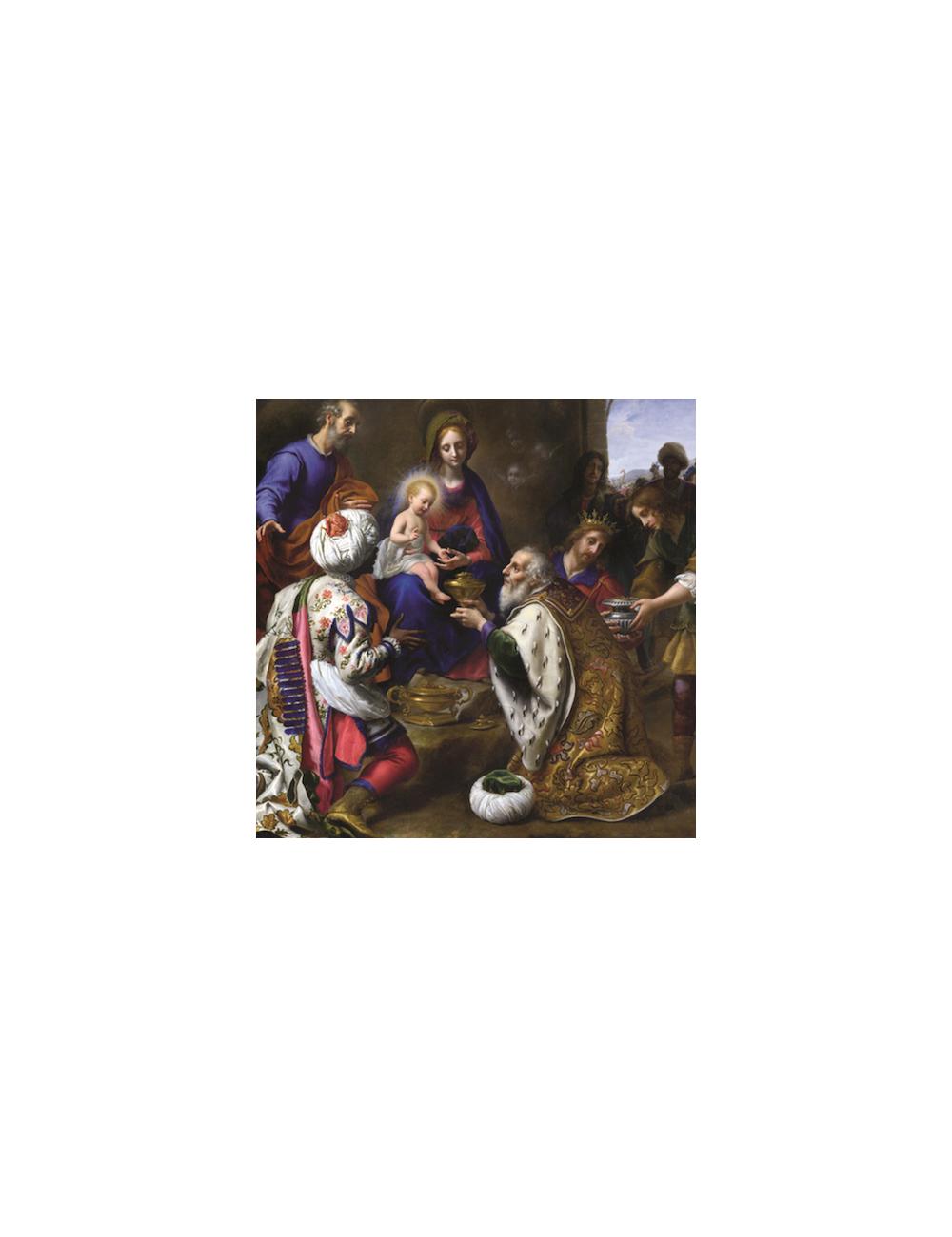 Julkort: De tre vise männen (10 -pack)