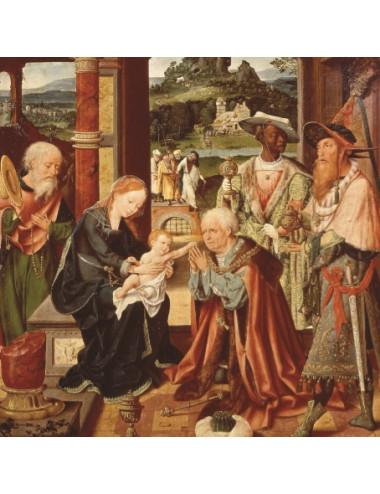 Julkort: En nyfödd konung...