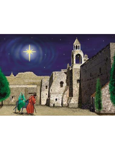 Julkort: Resan till...