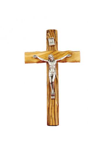 Krucifix i olivträ, från...