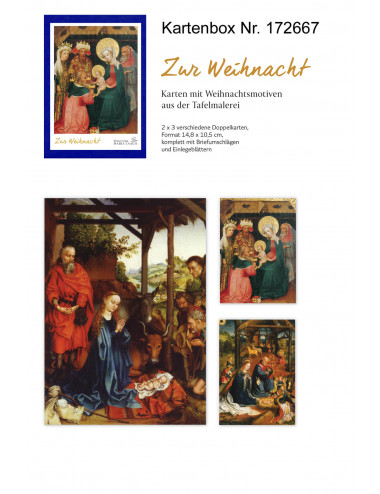 Julkort: Tillbedjan (6 st....